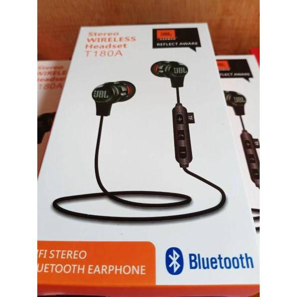 Dijamin Miring Harga Headset Bluetooth Jbl T180a Earphone Bluetooth Sport Jbl Reflect Shopee Indonesia