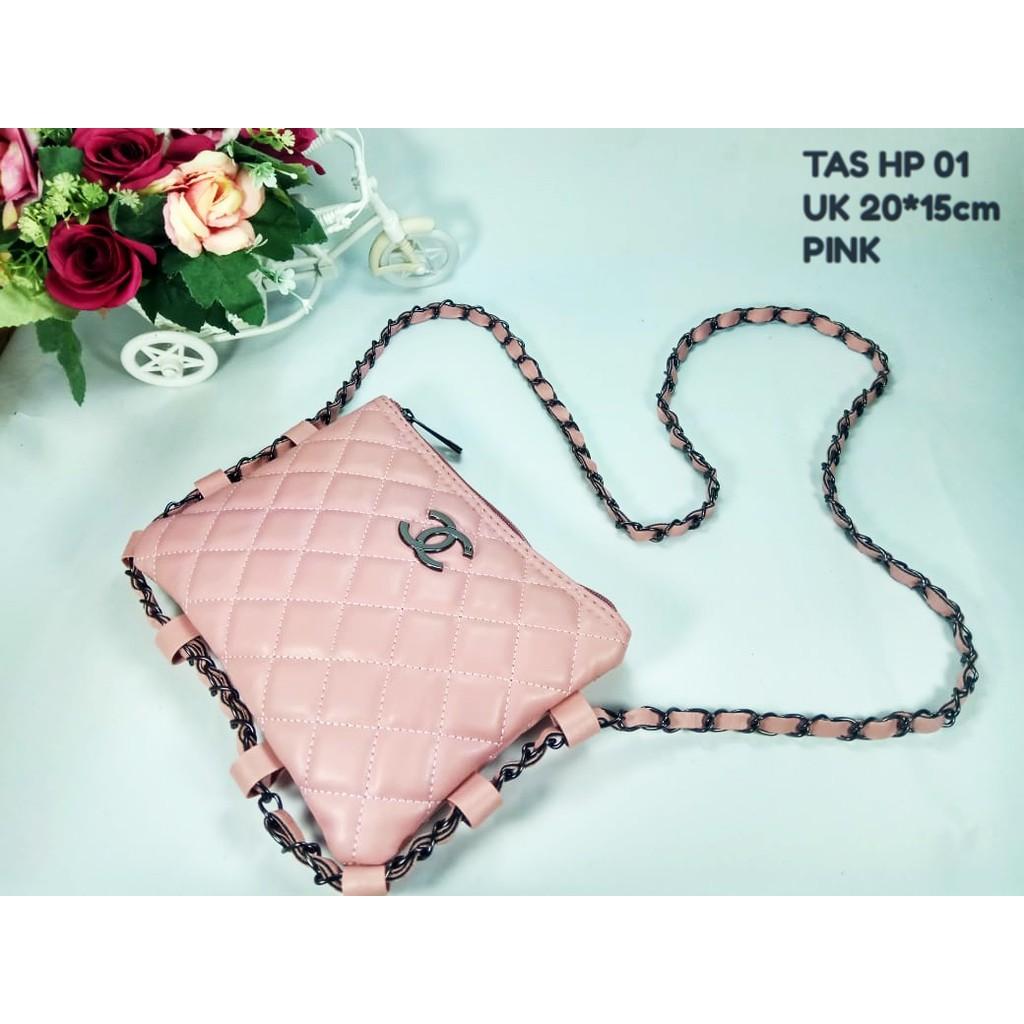 Tas Chanel Selempang Hp Mini Santai Import Cewek Scarlet Bag Hijau Wanita  Korea Pesta Batam Murah Shopee Indonesia