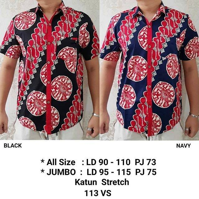 Kemeja Baju Batik Premium Lengan Panjang Couple Sogan Pria Katun Seragam  Ika Fashion Tanah Abang  784a62387f