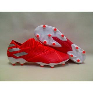 Sepatu Bola Soccer Adidas Nemeziz 19 1 Navy Volt White Fg