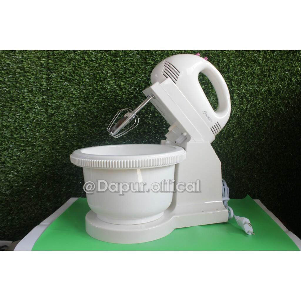 Stand Mixer Mangkok Kirin Ksm 386 Shopee Indonesia Ksm386 Putih