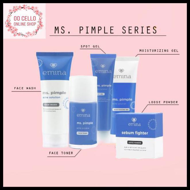 Emina Ms Pimple 1 Paket Pw403