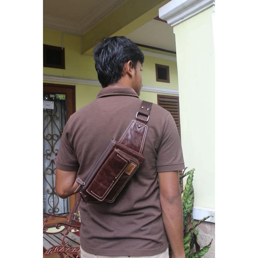 Tas Selempang Sport Gym Travel Duffel Bag Murah Visval Atom Black Ransel Cross Body Kulit  Pulcher Zayn G1828 Shopee Indonesia