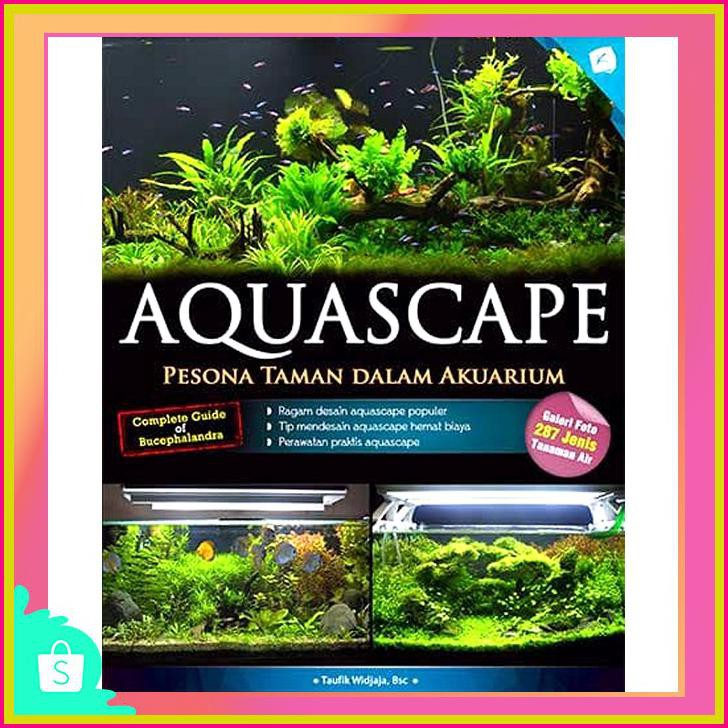 Aquascape Pesona Taman Dalam Akuarium Bunga Store 23 Shopee
