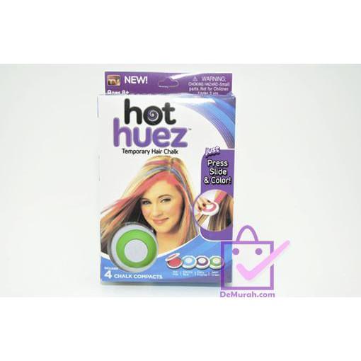 Promo HOT HUEZ TEMPORARY HAIR CHALK Pewarna Rambut Terlaris  35f67d9cfd