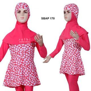 Baju Renang Anak Muslim Muslimah Sulbi Sbap 175 Shopee