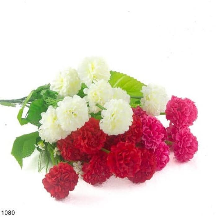 Buket Bunga Artificial Anyelir Vas Melamin Murah - 2 ... Source · LF Bunga