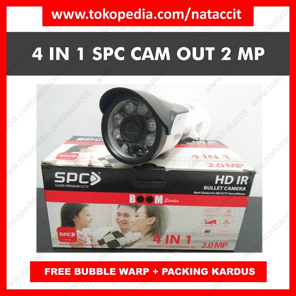 Spc Camera Cctv 13mp 4 In 1 Ahd Hdtvi Hdcvi Analog Outdoor Shopee 2 Mp Indoor Full Hd 1080p Indonesia