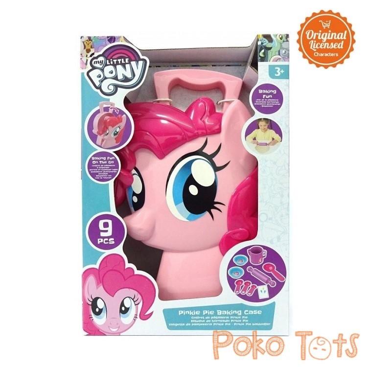 Happy Toon My Little Pony Pinkie Pie Baking Case Mainan Masakan Koper Anak Perempuan Shopee Indonesia