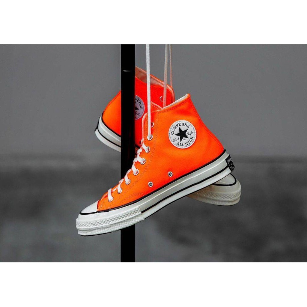 "Converse 70s Hi Vintage ""Total Orange"" (167700C)  Original"