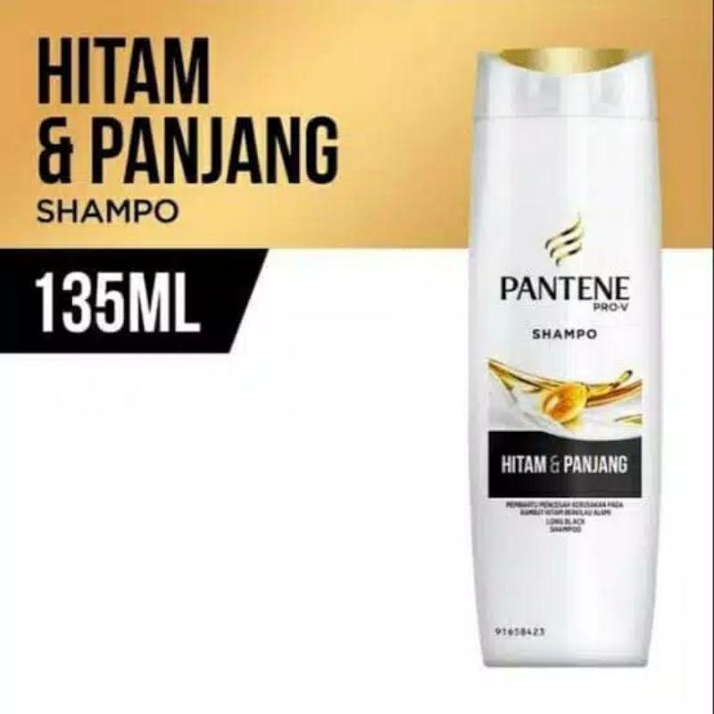Pantene Shampoo 130ml-HitamPanjang