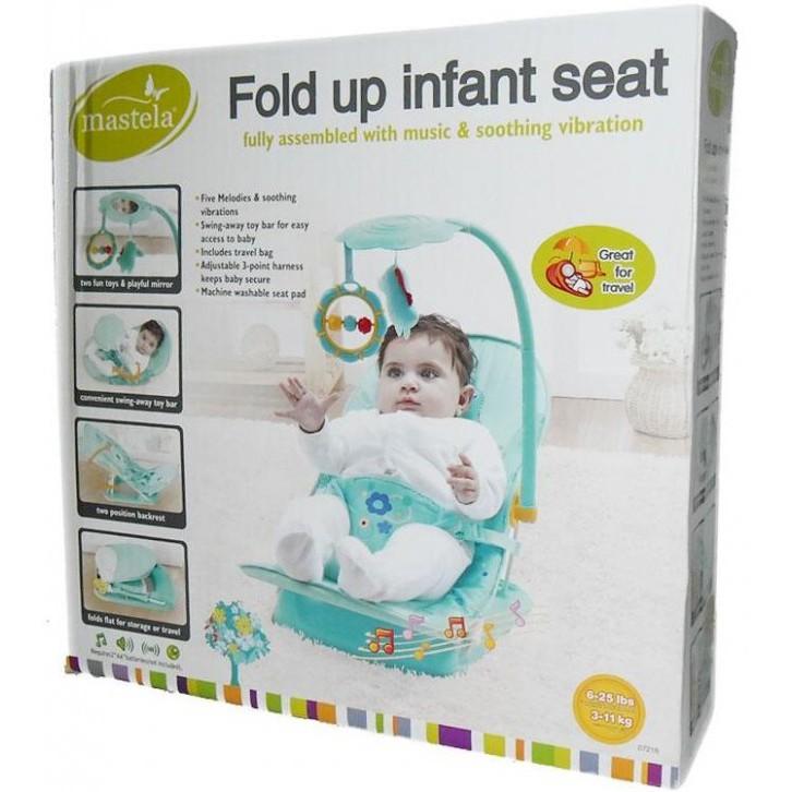 Mastela Fold Up Infant Seat .