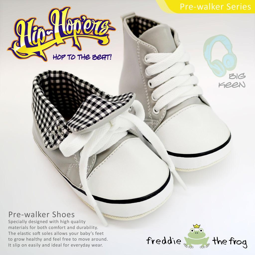 Sepatu Bayi Baby Shoes Prewalker Freddie The Frog Gladys Perempuan Tamagoo Gwen Grey Prew 9 12 Bulan Gold Shopee Indonesia