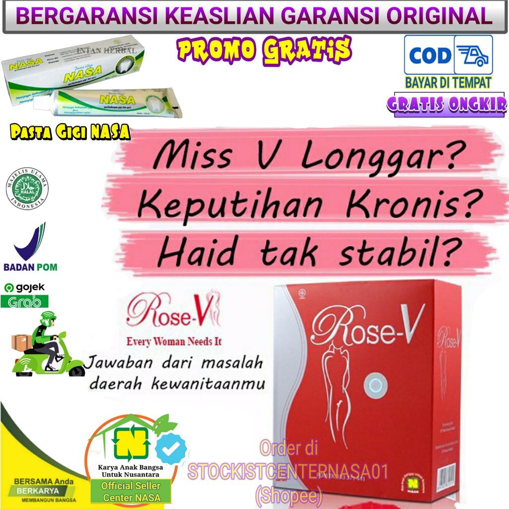 Rose V Original Nasa Minuman Pusaka Wanita Solusi Wanita Shopee Indonesia