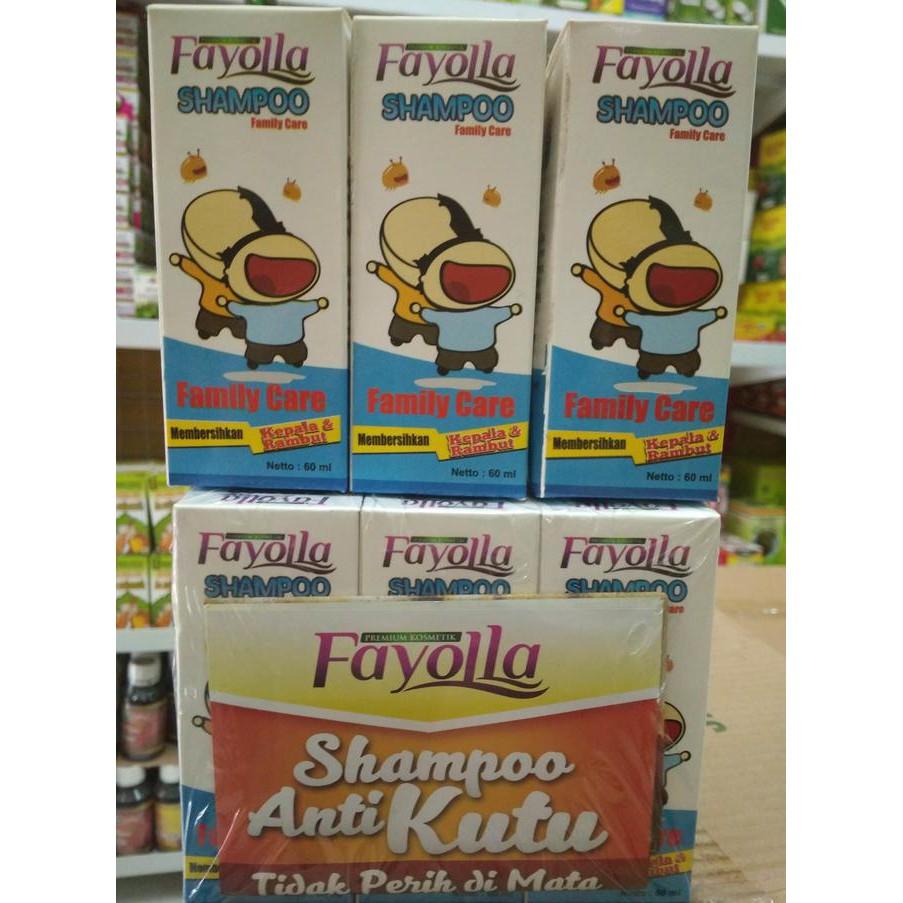 Fayolla Shampo Anti Kutu 60 Ml Membasmi Rambut Dan Telur Shampoo Lice Menebalkan Shopee Indonesia