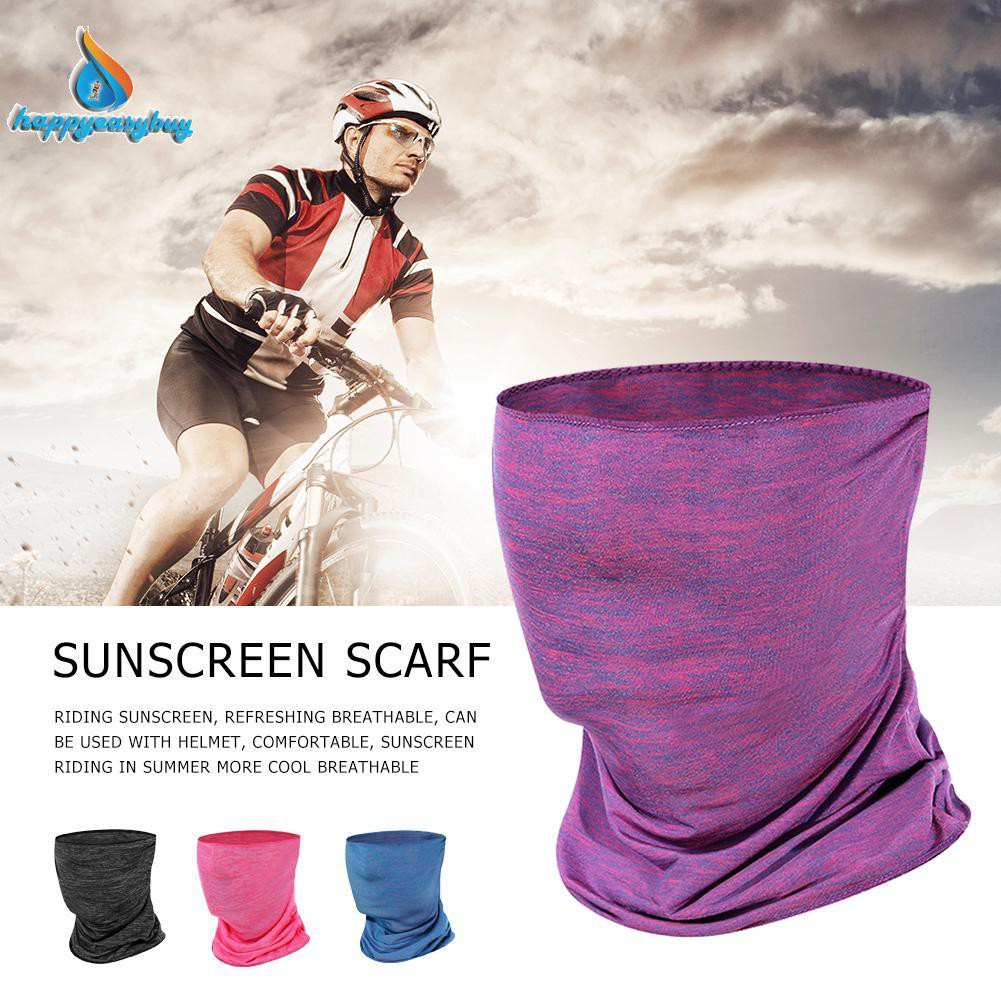 2Pcs Outdoor Riding Exercising Comfortable Sunblock Headscarf Bicycle Equipment