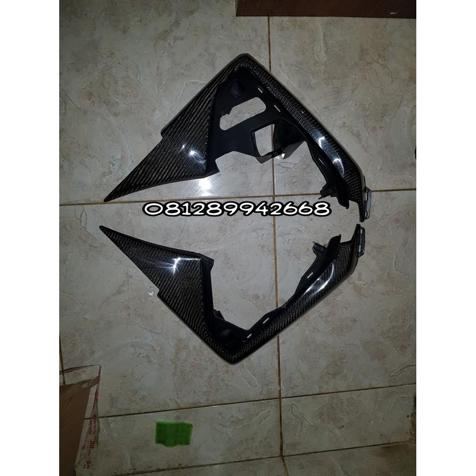 Termurah Yamaha Xmax Carbon Kevlar Cover Samping Tutup Tangki Knuckle Handguard Pelindung Stang Nemo Nmax Include