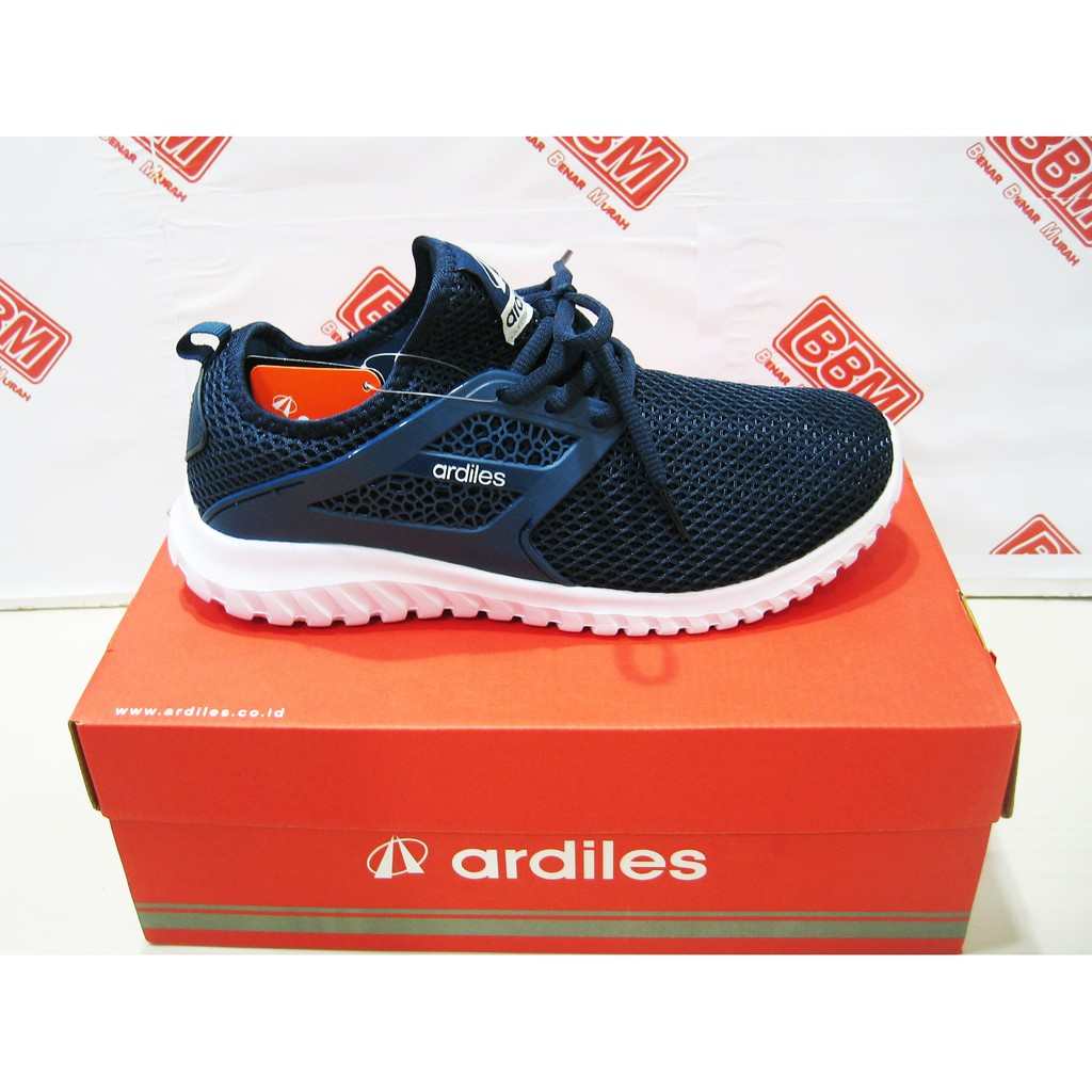 Ardiles Men Bichon Sepatu Running Navy Shopee Indonesia Anvil Hitam 44