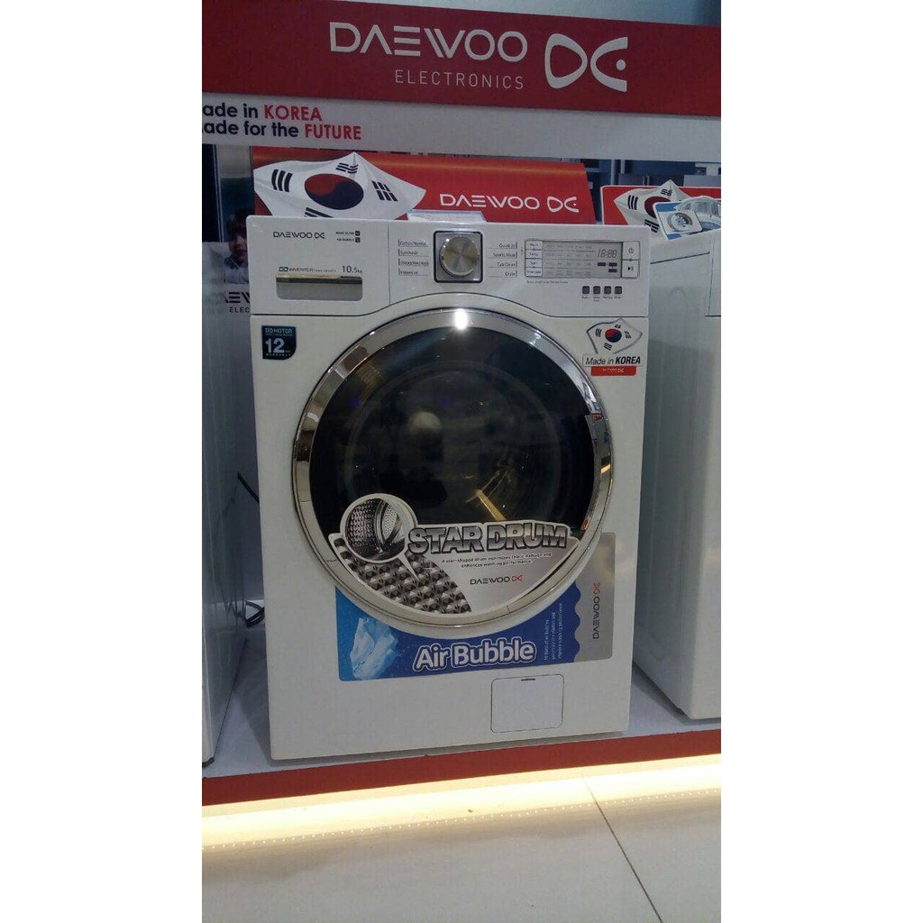 Mesin Cuci Auto Samsung Front Loading 75 Kg Ww75k5210yw Se Shopee Washer Indonesia