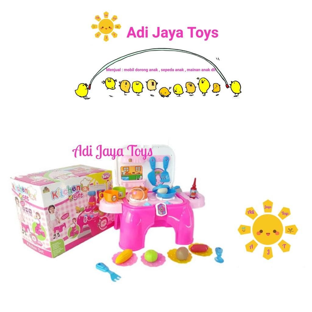 Ocean Toy Kitchen Set Mini Mainan Masak Masakan Anak Oct2328 Drum Oct0106 1 Shopee Indonesia