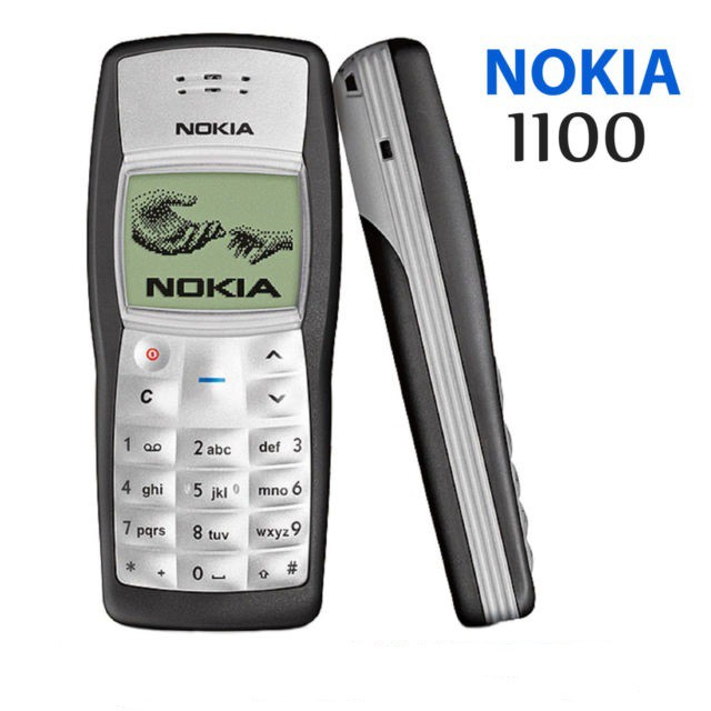 Nokia 1100 Single Sim Flashlight Nokia Jadul Unlocked Candybar