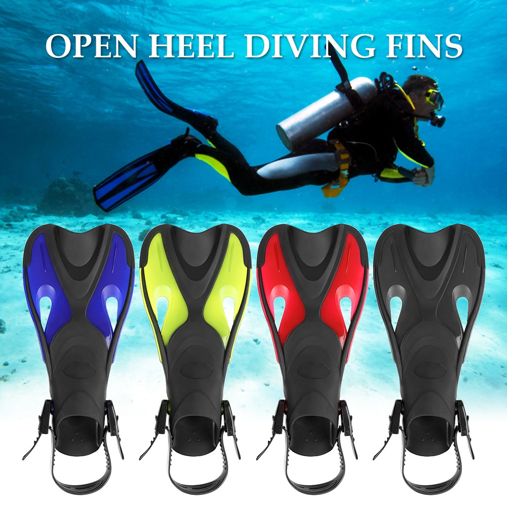 Adult children Convenient flippers Short Dive Fins for Swimming and Snorkeling
