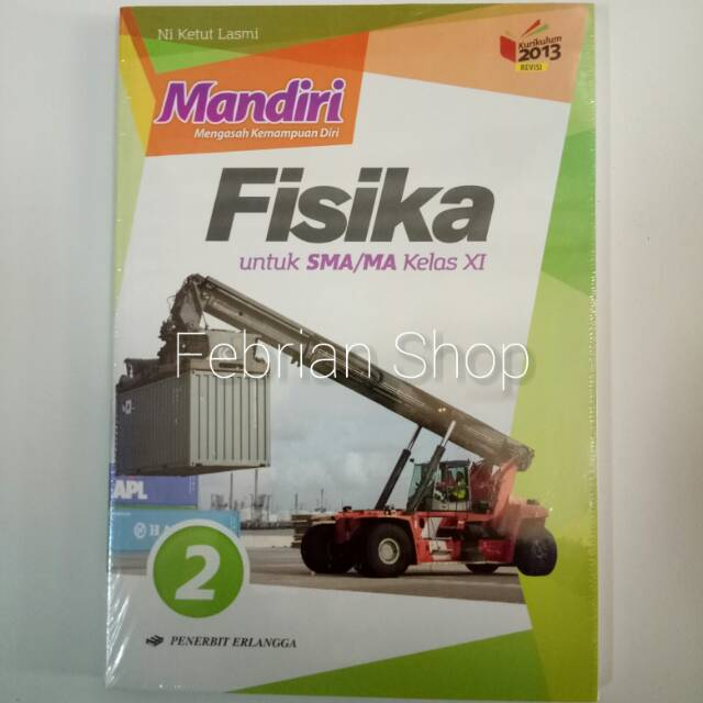 Buku Mandiri Fisika Sma Ma Kelas 11 Revisi K13n Shopee Indonesia