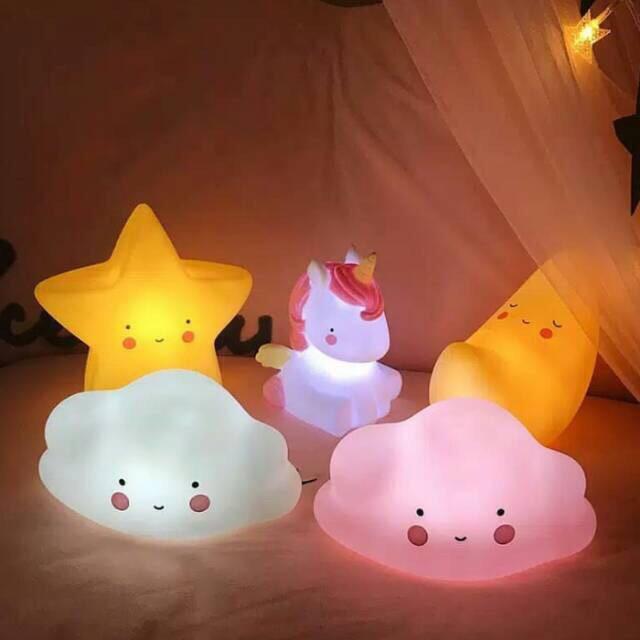 Lampu tidur LED karakter. CUTE !!! | Shopee Indonesia