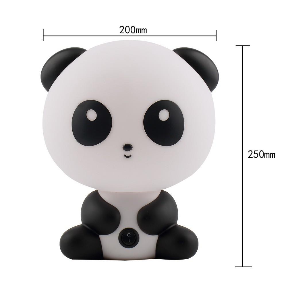 Lampu Meja Tidur Bentuk Kartun Panda Lucu Untuk Hadiah Anak
