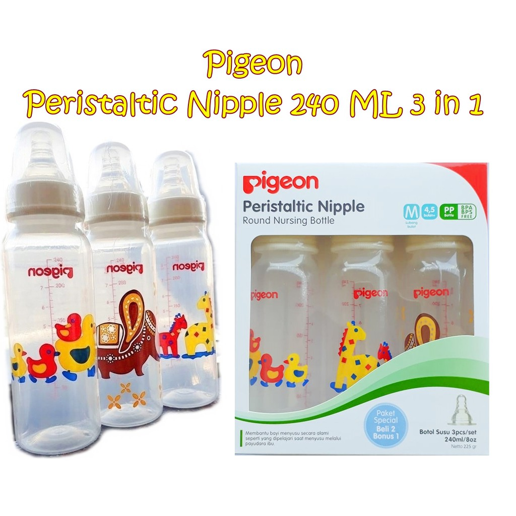 MAK05 Babysafe Feeding Bottle 125 ml JP002 Botol Susu Bayi   Shopee Indonesia