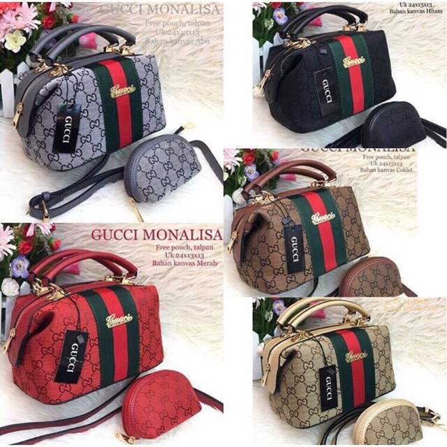 Tas Gucci Ransel Backpack Multifungsi Benzo FREE POUCH !! TERMURAH ... 933c1d90ee