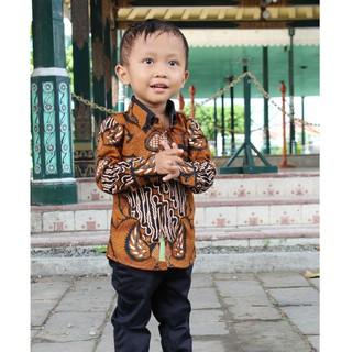 Kemeja Batik Pakaian Anak Laki Lai Baju Batik Anak Hem Batik Baju Batik Anak Laki Laki Terlaris