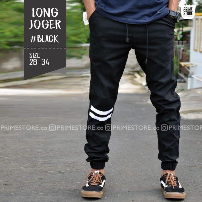 Jogger Strip Premium / Celana Jogger/ Celana Joger Pria/Celana Panjang   Shopee Indonesia