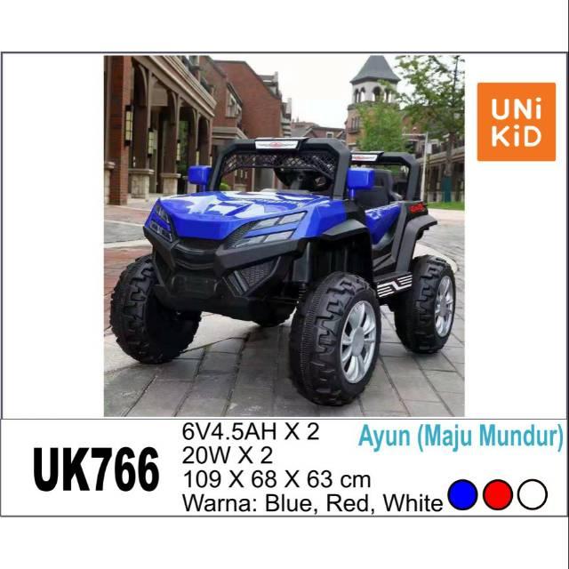 Mobil Aki Mainan Anak Jeep UK766 Unikid UK 766