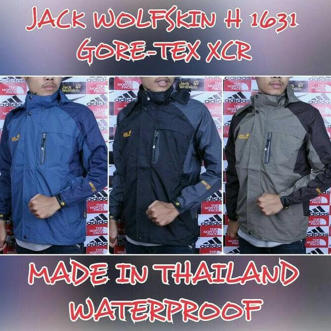 SUPER MURAH-NEW JAKET OUTDOOR BOMBER JACK WOLFSKIN 1706 WATERPROOF JAKET CONSINA REI   Shopee Indonesia