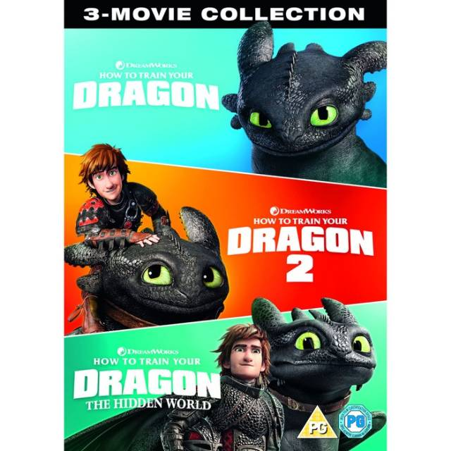How To Train Your Dragon Collection Subtitle Indonesia Shopee Indonesia