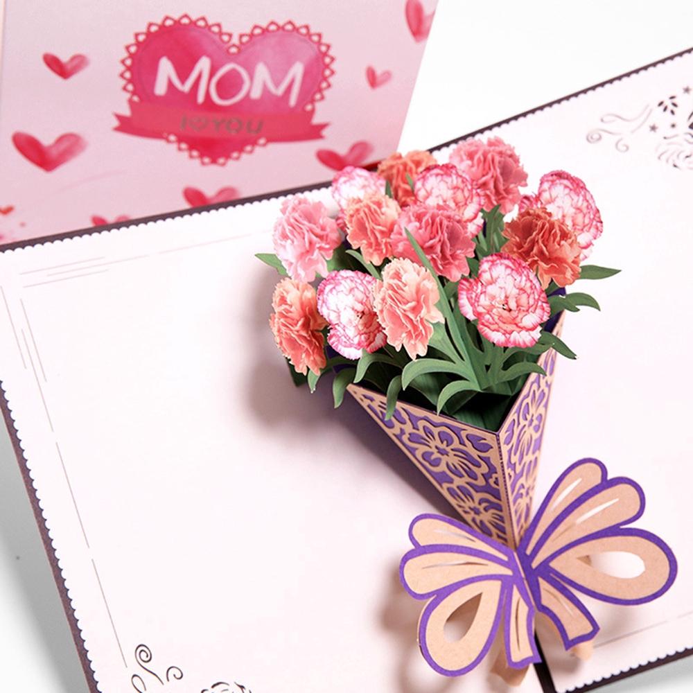 Kartu Ucapan Desain 3d Mother S Day Untuk Hari Ibu Shopee Indonesia