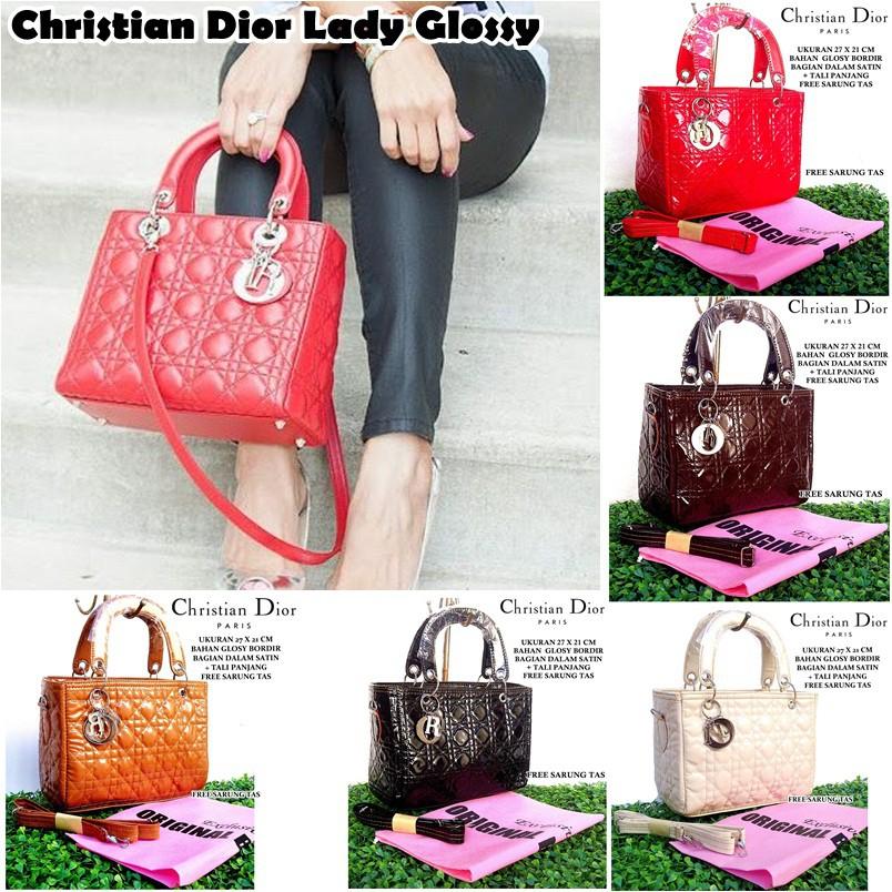 READY TAS Wanita Import Dior Jelly Matte  7bf415a2a1