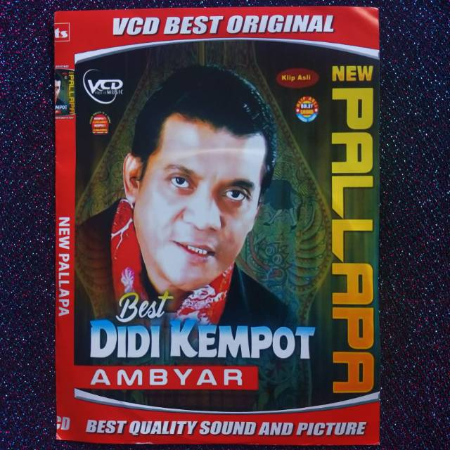 Kaset Dvd Vcd Lagu Didi Kempot Ambyar Shopee Indonesia