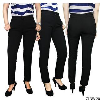 Celana-Kantoran-Wanita-Katun-Hitam-–-CLNW-20