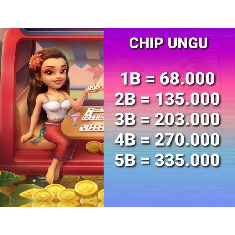 Chip HIGGS DOMINO MURAH/CHIP UNGU MURAH AGEN RESMI