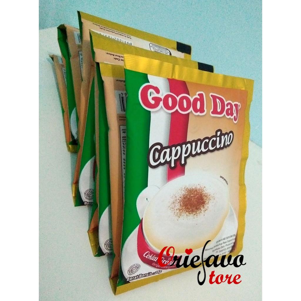 Torabika Cappuccino 10 Sachet Berat 25 Gr Shopee Indonesia Kapal Api Grande White Coffee With 1 Gtg
