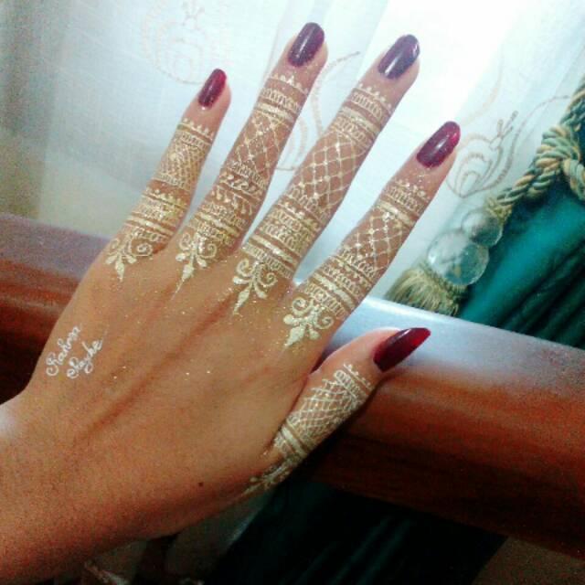 Kutek Henna Nail Henna Kutek Halal Kutek Nail Art Kuku