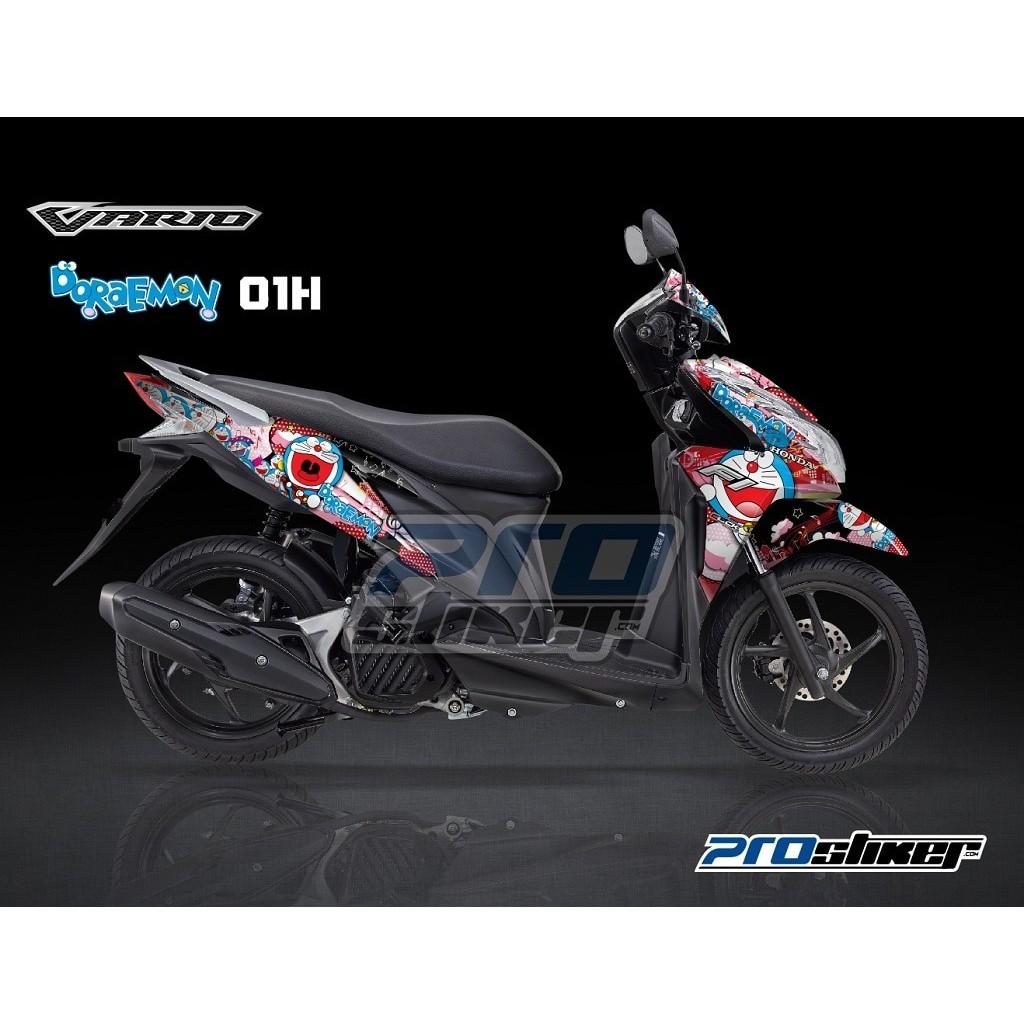 Striping vario 125 fi motif grafis simple frozenline prostiker semua siap kirim shopee indonesia