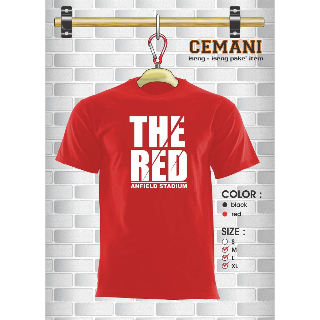 Cottonology Type Red Shopee Indonesia Camden Long Merah Xxl