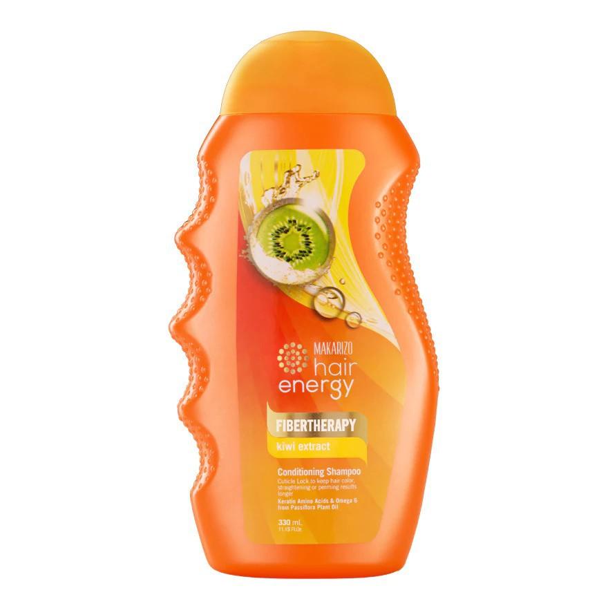 ❤ BELIA ❤ MAKARIZO Hair Energy Shampoo Botol (170ml & 330ml) Shampo Sampo Pembersih Rambut 2in1-Kiwi-KUNING