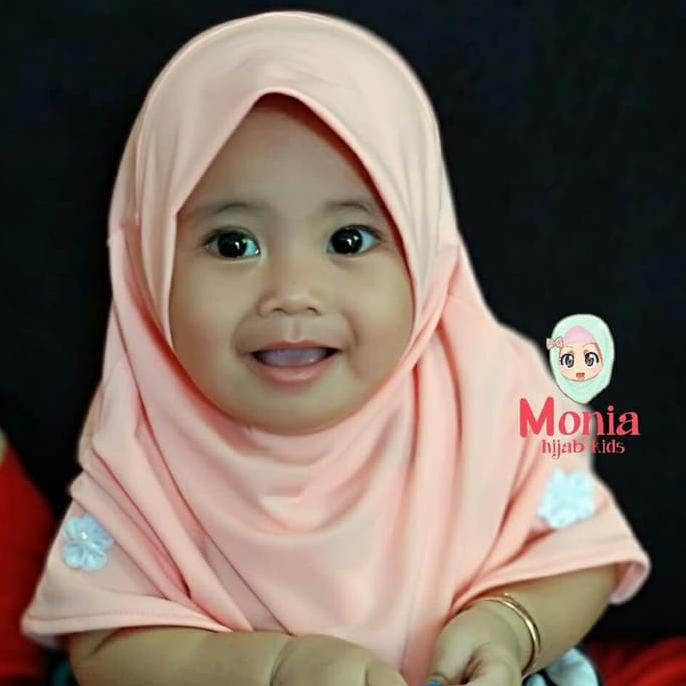 Anak Mutiara Hijab Kerudung Aksesories Headband Terbaru. Source · jilbab bayi -