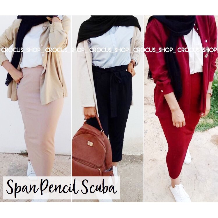 Cs Pencil Span Panjang Scuba