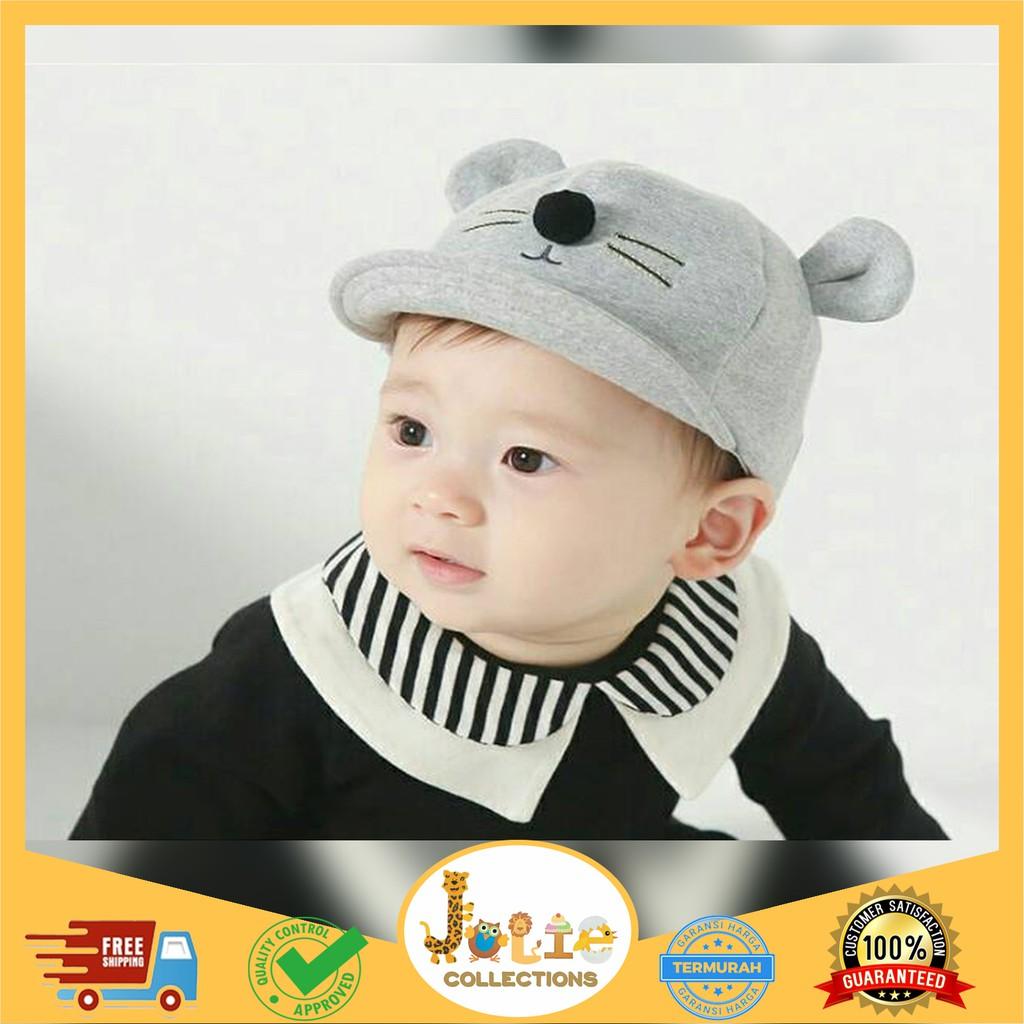 Joliecollections Topi 3d Bayi Korea Impor Topi Anak Lucu Baby