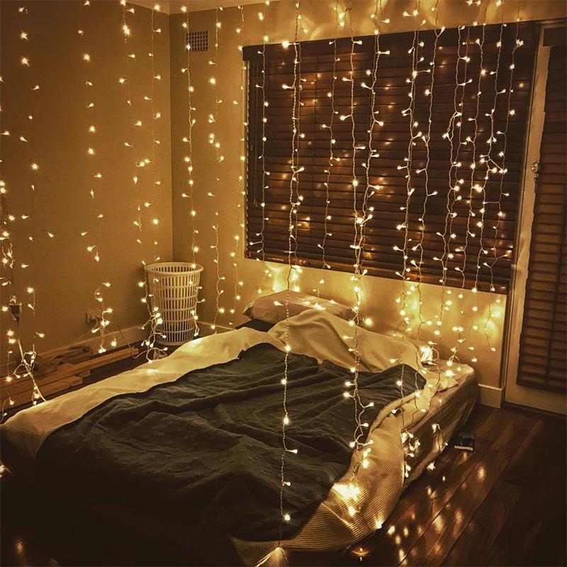 Desain Kamar Tidur Lampu Tumblr lampu led dekorasi kamar tidur cantik panjang tumblr lampu natal